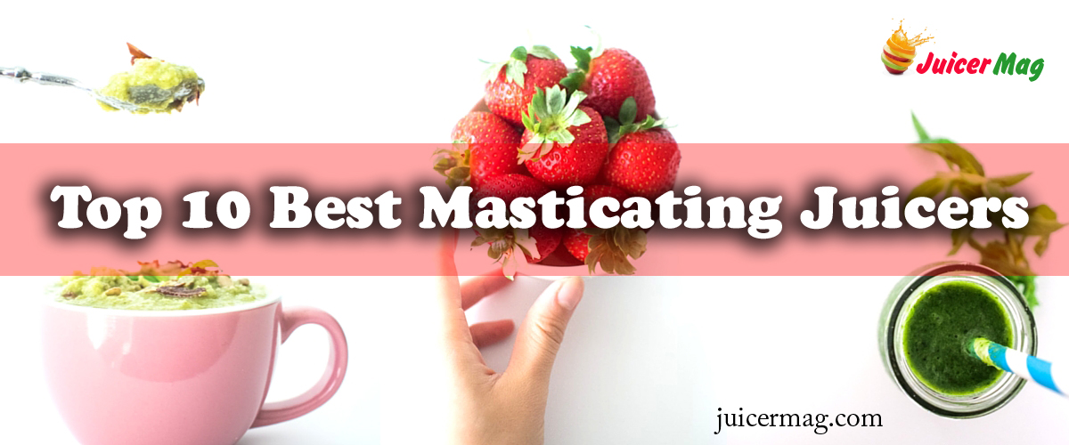 Top 10 Best Masticating Juicer - JuicerMag