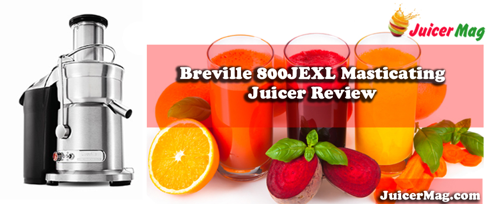 Breville 800JEXL Masticating Juicer Review